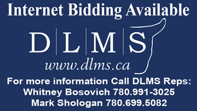 Online bidding available through DLMS